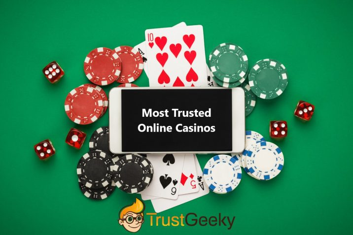TrustGeeky Most Trusted Online Casinos